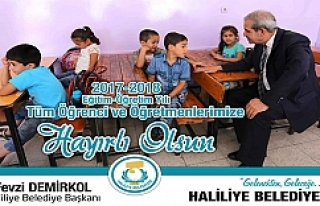 Başkan Demirkol'dan yeni yıl mesajı