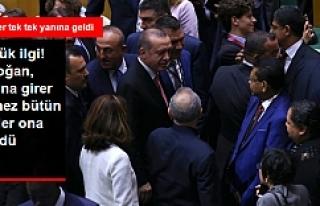 BM'de gözler Erdoğan'daydı...