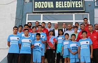 Bozova sporda meyve vermeye başladı