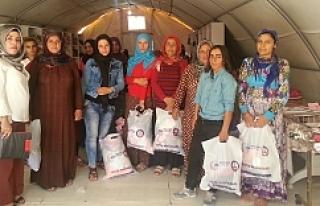 Kaymakam Sinanoğlu 14 bin çocuğa yardımda bulundu