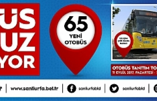 Urfa Büyükşehir 65 yeni araç aldı