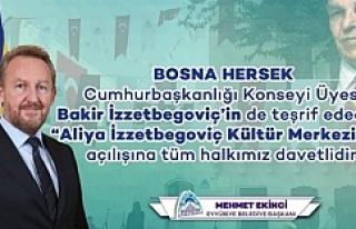Aliya İzzetbegoviç Kültür Merkezi Açılıyor
