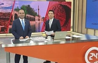 Başkan Çiftçi TV24'de konuk oldu