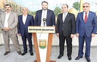 Çin Büyükelçisi Önen'den Büyükşehire...