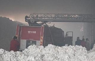 Çırçır fabrikası alev alev yandı