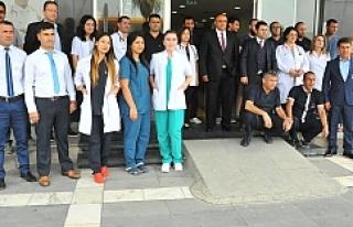 Edessa Hastanesi yeni yüzüyle hizmete girdi
