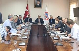 Koordinasyon toplantısı yapıldı