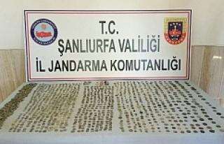 Şanlıurfa'da tarihi eser kaçakçılığı