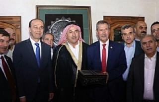 """Çavuşoğlu:"""" Mahmut Ağa'ya misafir olduk"""""""