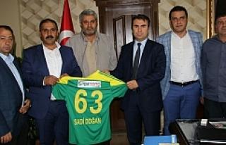 Urfaspor'dan Başsavcı'ya hayırlı olsun...