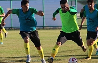 Urfaspor zorlu maçın provasını yaptı