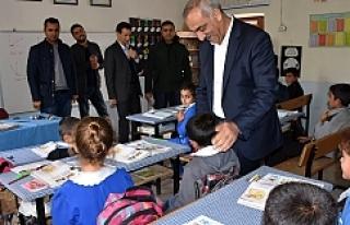 Başkan Bayık'tan, Kırsal Mahalle Okullarına...