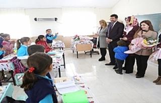 Başkan Ekinci'den kırsal okullara çıkarma
