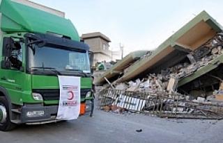 Erdoğan: 50 TIR Habur'dan giriş yaptı!