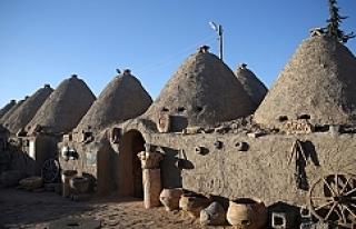 Harran'ın Tarihi Evlerine Kış Bakımı