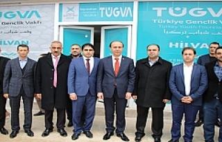 Hilvan'da bilgi evi açıldı