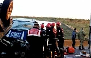 Şanlıurfa'da feci kaza: 7 Yaralı