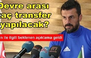 Tandoğan'dan flaş açıklamalar...