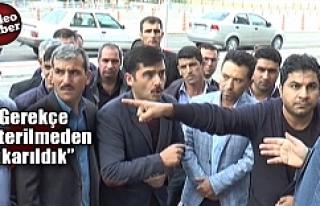 Urfa'da işten çıkarılan işçilerle ilgili...