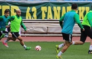 Urfaspor, Karşıyaka maçının provasını yaptı