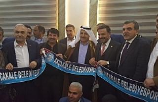 Başkan Ayhan dosyayı Bakan'a teslim etti