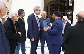 Başkan Demirkol Hızmalı halkıyla buluştu