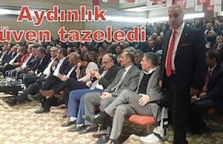 CHP Urfa İl Teşkilatı kongreye gitti