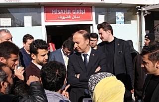 Suriyelilerle Göç Idaresinde buluştu