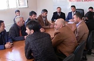 Taşeron firmalar MHP'den görüştüler (video)