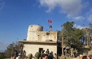 Burseya Dağına Türk Bayrağımız dikildi