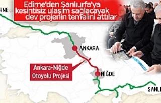 Başbakan Yıldırım açıkladı! Edirne'den...