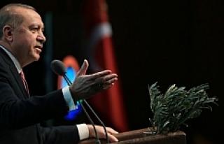 Erdoğan'dan Afrin'e giden Esed konvoyuna...