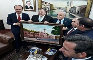 Eroğlu, Cumhurbaşkanının talimatını Urfa'da...