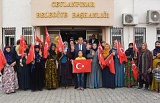 Kejanlı Kadınlardan Zeytin Dalı'na destek...