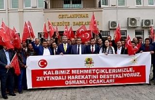 Osmanlı Ocakları'ndan Başkan Atilla'ya...