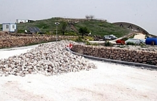 Göbeklitepe'ye beton döktüler