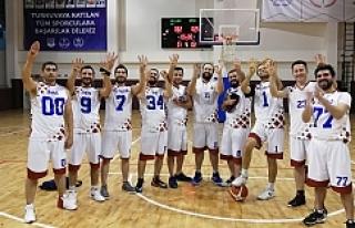 Baskette başarıyı elde ettiler