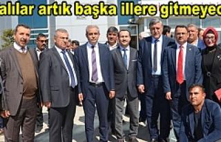 Milletvekili Kaçar'dan Urfa'ya müjdeli...