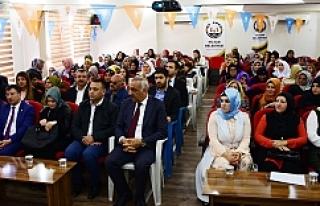 AK Parti Hilvan Kadın Kolları Kongresi