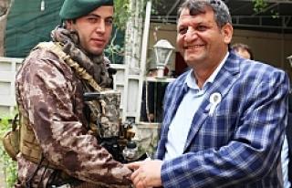 Başkan Ayhan Polislerle Bir Araya Geldi.