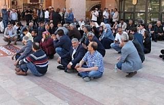 CHP Urfa'da oturma eylemi yaptı