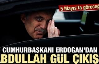 Erdoğan'dan Gül'le ilgili flaş açıklama
