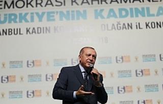 Erdoğan İzmir'de sert konuştu
