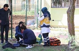Liseli kız öğrenci dehşet saçtı