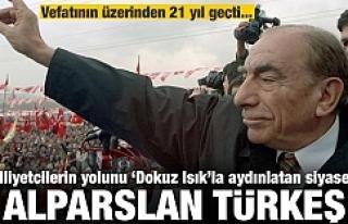 Türkeş'ten ayrılalı 21 yıl oldu..