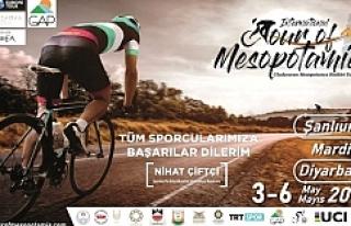 Mezopotamya Bisiklet Turu Başlıyor
