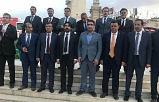 MHP adayları sahaya indi...