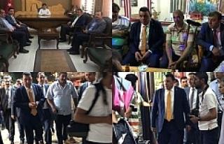 MHP'li adaylar çıkarma yaptılar...