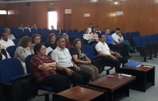 Urfa'da Etik  konferansı