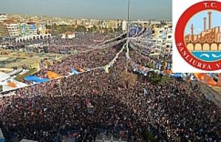 Urfa'da mitingler nerede yapılacak?